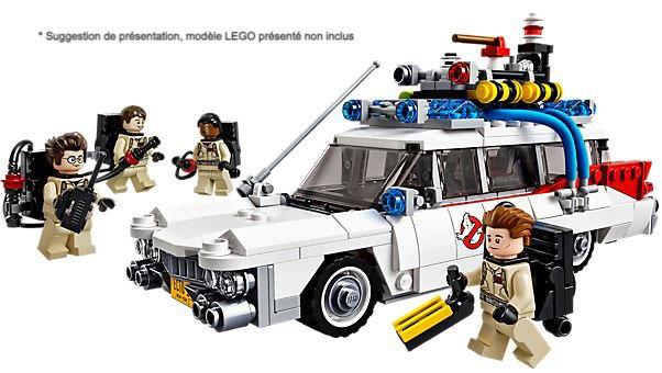 Vitrine BriquesaBoX pour IDEAS Ghostbusters Ecto-1 (LEGO® 21108 non inclus)