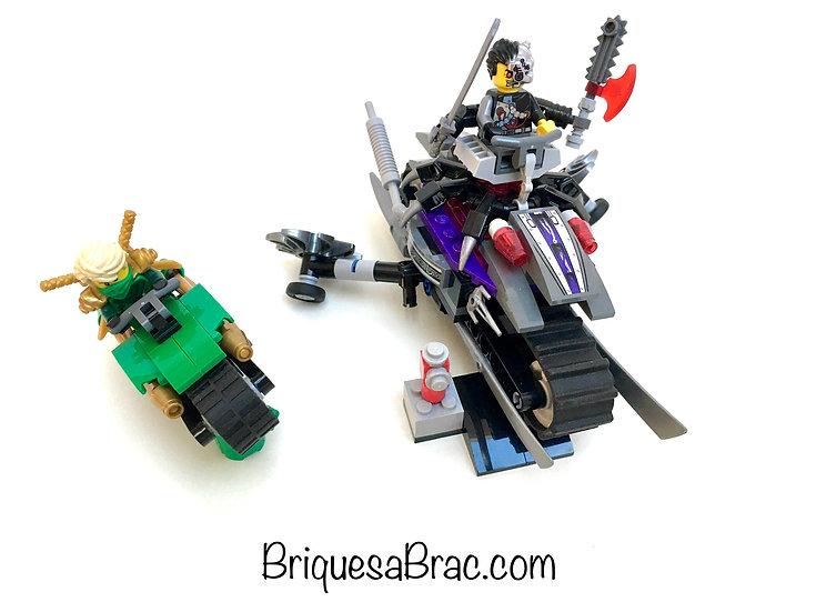 LEGO ® NINJAGO 70722 L'Attaque d'Overborg (Occasion)