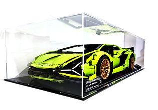 Vitrine Plexiglas LEGO 42115 Lamborghini Sián (Sian) FKP 37