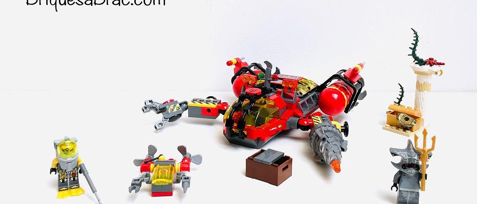 LEGO ® ATLANTIS 7984 Le Torpilleur des profondeurs