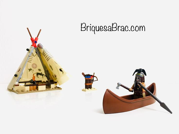 LEGO ® THE LONE RANGER 79107 Le camp Comanche