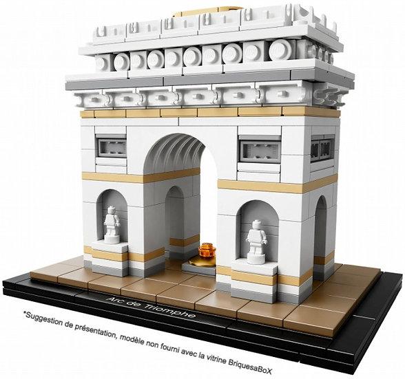 Vitrine BriquesaBoX pour ARC de Triomphe LEGO® 21036 (non inclus)