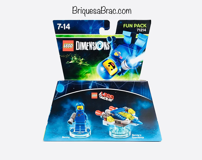 LEGO ® DIMENSIONS 71214 Benny and Benny's Spaceship
