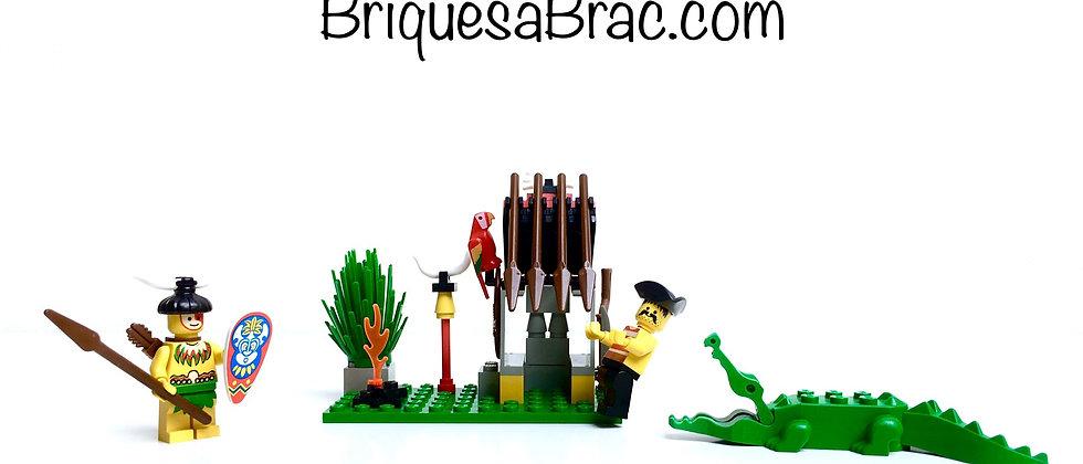 LEGO® PIRATES 6246 Crocodile Cage