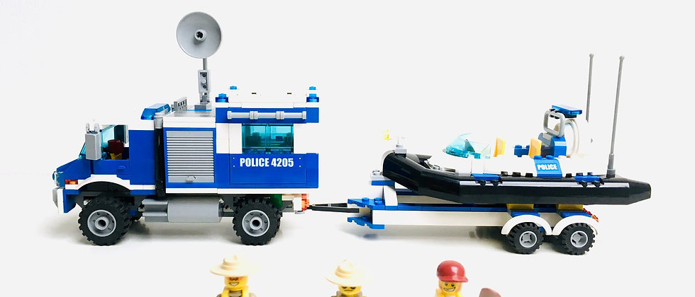 LEGO ® CITY 4205 Off-road Police Command Center