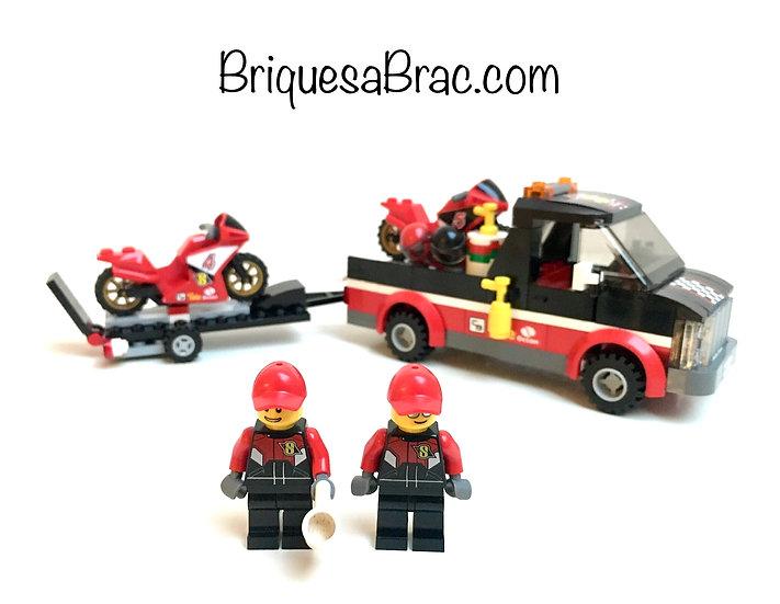 LEGO ® CITY 60084 Le Transporteur de motos de course (Occasion)
