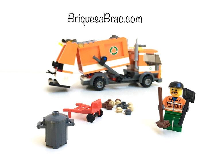 LEGO ® CITY 7991 Le Camion Poubelle (Recycle Truck)