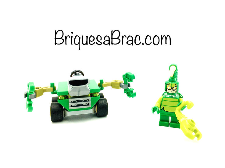 LEGO ® MIGHTY MICROS 76071 Scorpion avec son véhicule (Occasion)