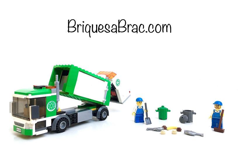 LEGO ® CITY 4432 Le Camion Poubelle