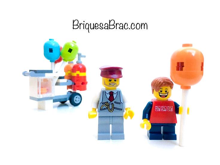LEGO ® CITY POLYBAG EXCLUSIVE 40108 Le vendeur de Ballons (Occasion)