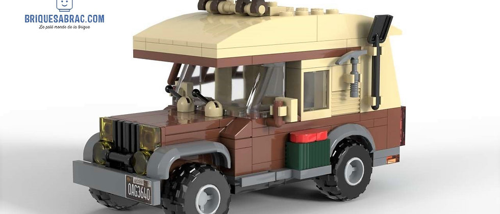 OFF ROAD CAMPER  (City Scale 1:1)