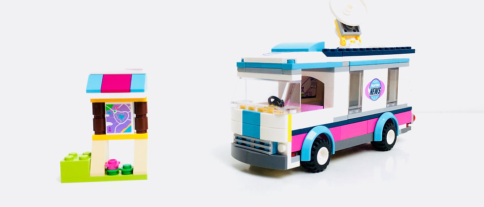 LEGO ® FRIENDS 41056 Heartlake Van News