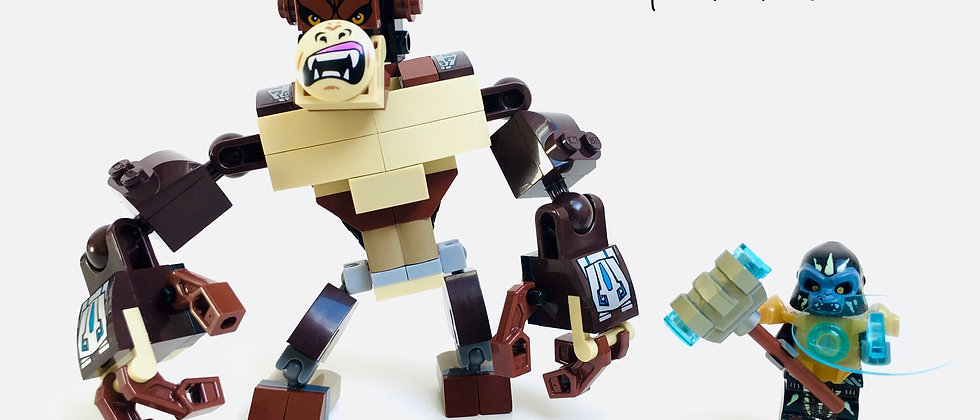 LEGO ® LEGENDS OF CHIMA 70125 Gorilla Legend Beast