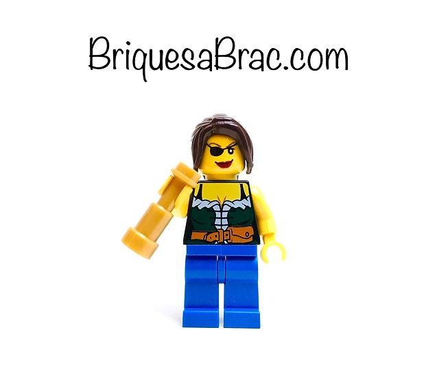 LEGO ® MINIFIGS 6299-8 Femme Pirates pi101 + Accessoire