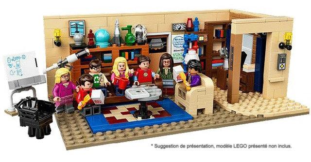 Vitrine BriquesaBoX pour The Big Bang Theory (LEGO® 21302 non inclus)