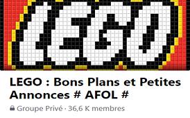 Groupe Facebook LEGO Bons Plans et Petites Annonces AFOL