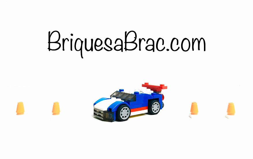 LEGO ® CREATOR 3EN1 31027 Blue Racer (Occasion)