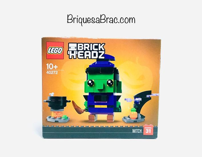 LEGO ® BRICKHEADZ 40272 La Sorcière d'Halloween (Neuf)
