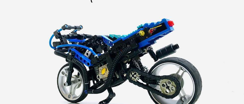 LEGO ® TECHNIC 8417 Mag Wheel Master / Motorbike