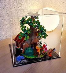 Vitrine d'exposition Plexiglas BriquesaBoX pour vos LEGO®