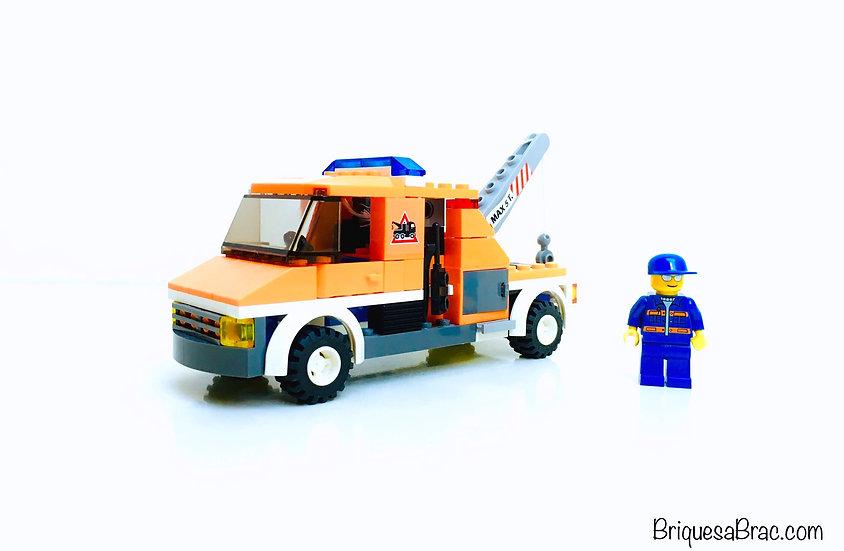 LEGO® CITY TRAFIC 7638 La Dépanneuse (Occasion)