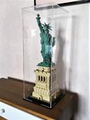 Vitrine Plexigas Briquesabox LEGO Architecture 21042 Statue de la liberté