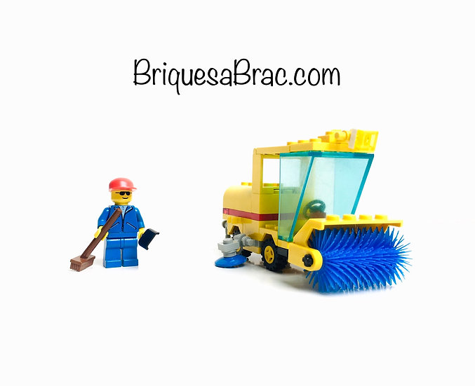 LEGO ® CLASSIC TOWN 6649 La Balayeuse (Street Sweeper)