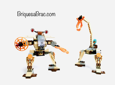 "La petite histoire de "" Life On Mars "" chez Lego®"