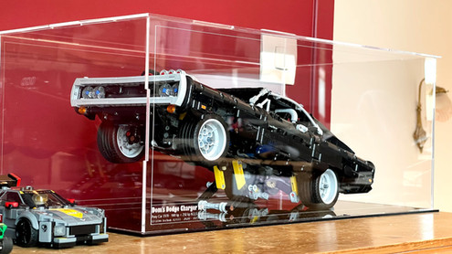 Vitrine plexiglas BriquesaBoX lego® Technic 42111 Dodge Charger RT Fast and Furious