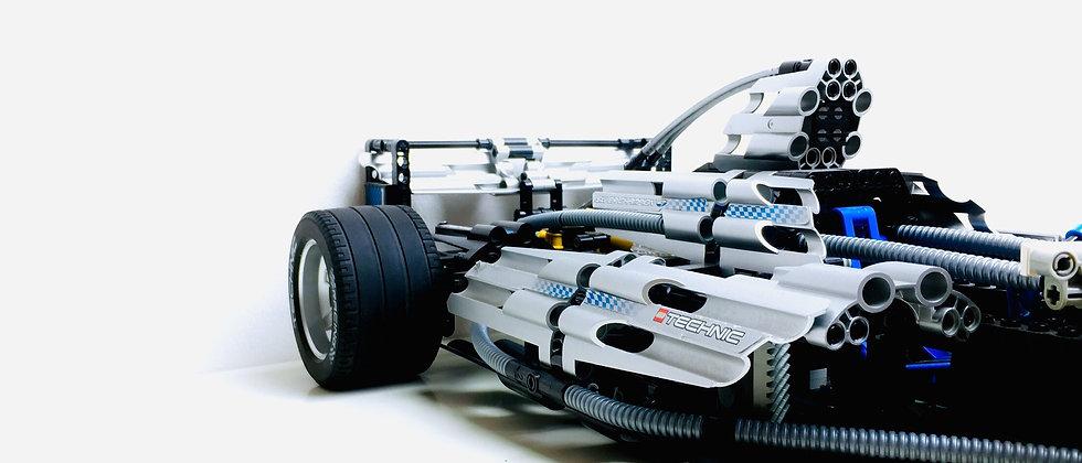 LEGO ® TECHNIC 8458 Silver Champion F1