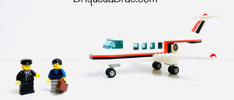 LEGO ® CLASSIC TOWN 6368 Jet Airliner