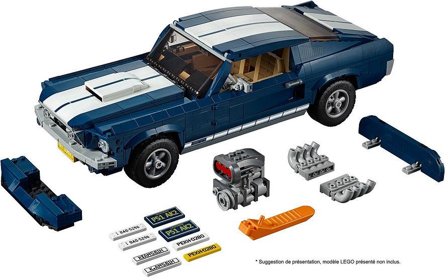Vitrine BriquesaBoX pour Ford Mustang (LEGO® 10265 non inclus)