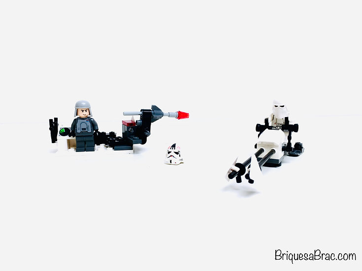 LEGO ® STAR WARS 8084 Snowtrooper Battle