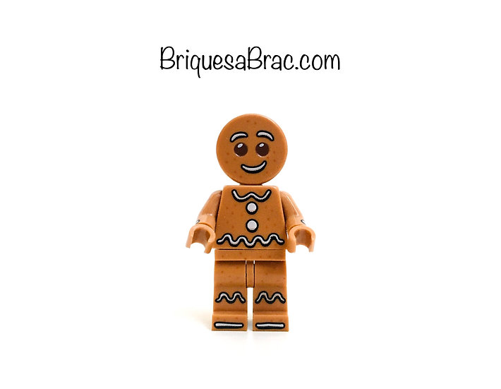 LEGO ® MINIFIGURES SERIE 11 Gingerbread Man (col168)