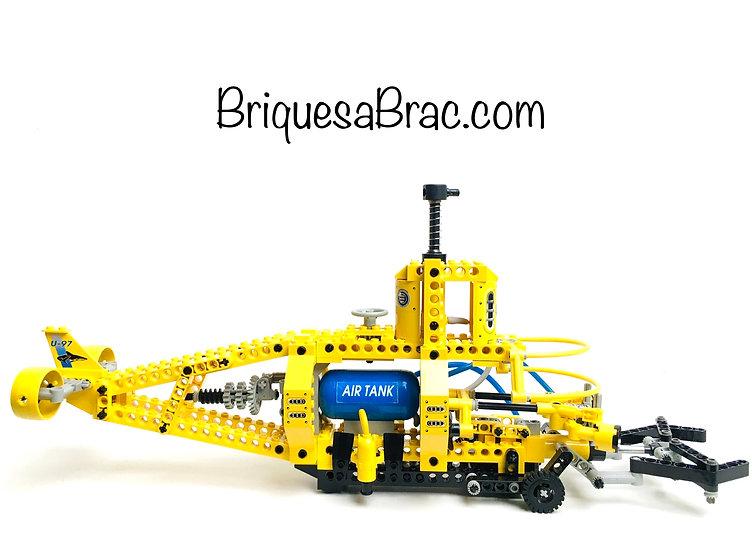 LEGO® TECHNIC 8299 Le Sous-Marin de recherche (Occasion Incomplet)