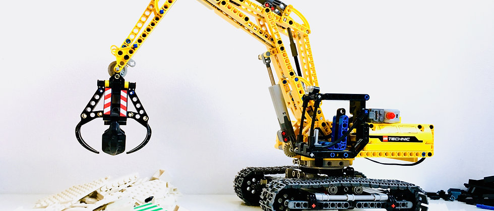 LEGO® 42006 Excavator + Moteur