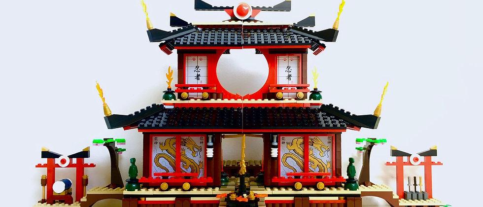 LEGO ® NINJAGO 2507 FireTemple