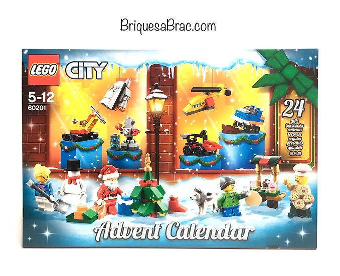 LEGO ® CITY 60201 Le Calendrier de l'avent (Neuf)