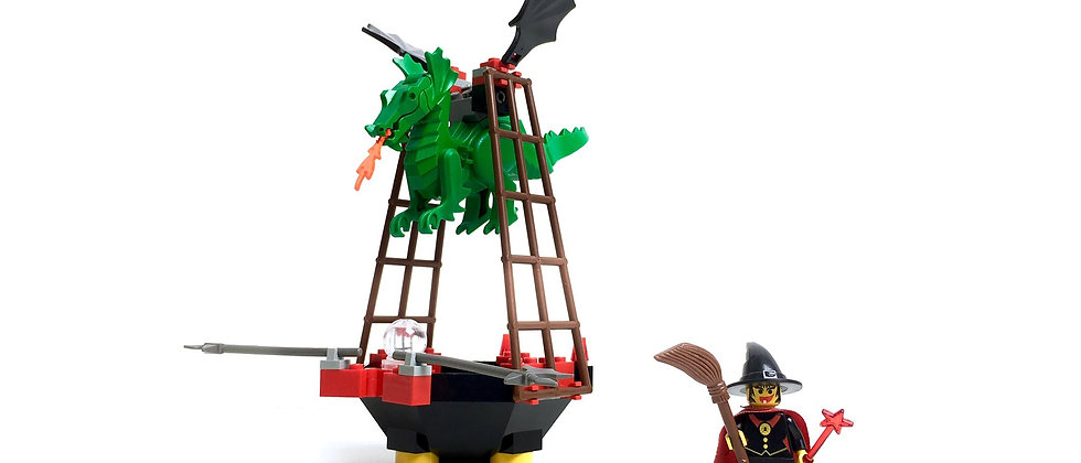 LEGO ® CHÂTEAUX FORT 6037 Witch's Windship