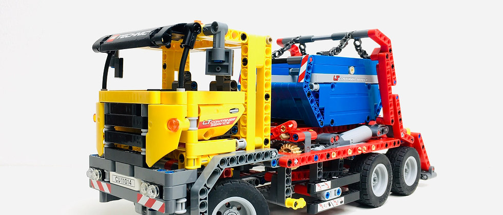 LEGO ® TECHNIC 42024 Le Camion Benne (Container Truck)