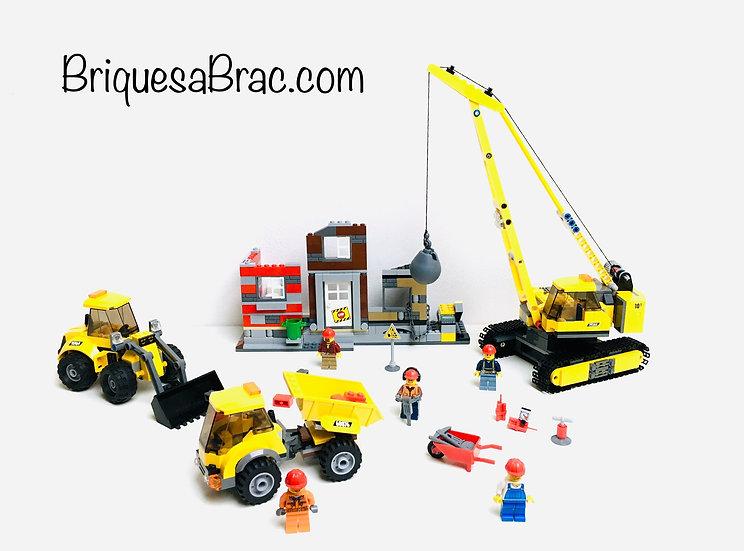 LEGO ® CITY 60076 Le site de démolition