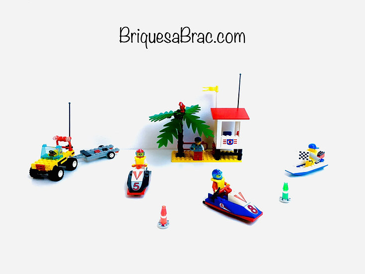 LEGO ® CLASSIC TOWN 6334 Wave Jump Racers (Occasion)