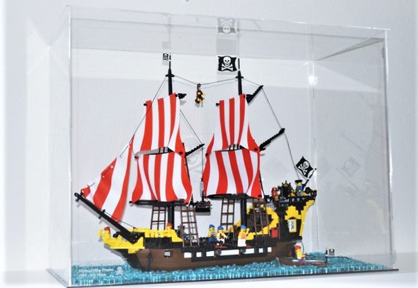 Vitrine BriquesaBoX Set Pirates 6285 Black sea Barracuda