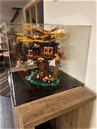 Vitrine BriquesaBoX LEGO® IDEAS 21318 La cabane dans les arbres