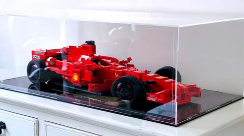 Vitrine Plexiglass BriquesaBoX LEGO®  Racers 8157 Ferrari F1 1:9