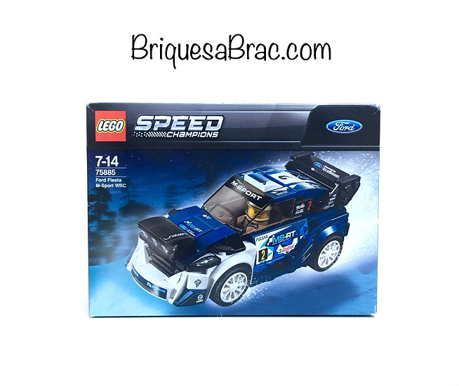 LEGO ® SPEED CHAMPIONS 75885 Ford Fiesta M-Sport WRC (Neuf)