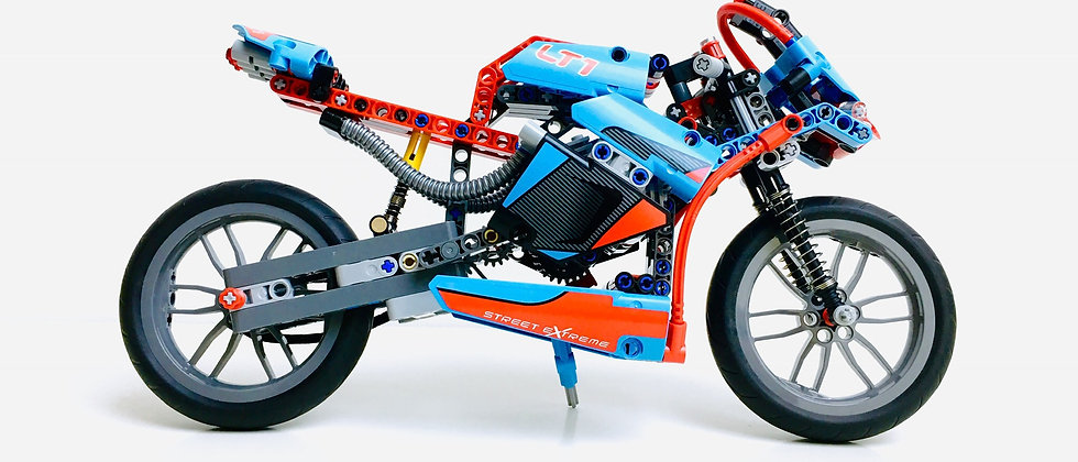 LEGO® TECHNIC 42036 Street Motorcycle
