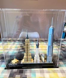 Vitrine Plexigass Briquesabox LEGO® Architecture New York City