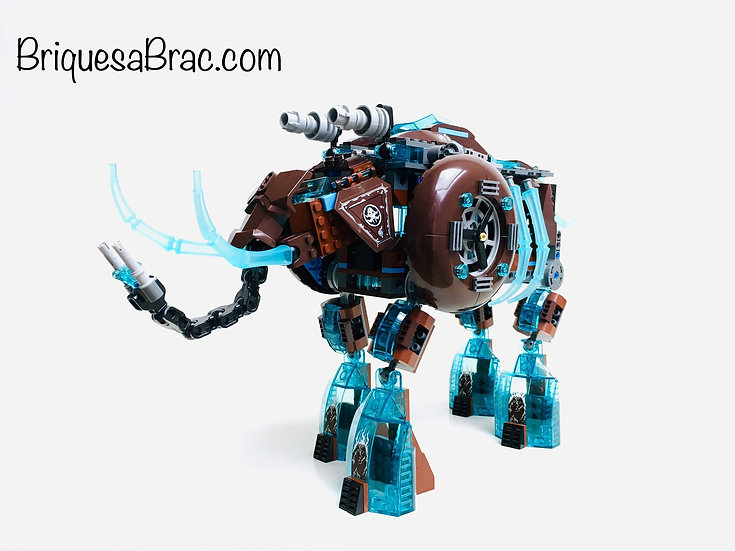 LEGO ® LEGENDS OF CHIMA 70145 Le Mammouth des glaces