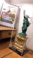 Vitrine Plexigas Briquesabox LEGO Architecture 21042 Statue of Liberty